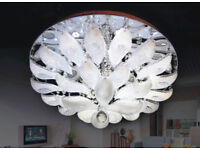 Modern RGB Colour changing LED Ceiling Chandelier Lights MP3 Remote Music 2009