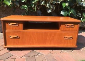 G plan fresco teak tv unit