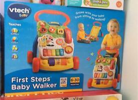 Vtech first steps baby walker BRAND NEW IN BOX