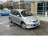 2005 HONDA JAZZ SPORT AUTOMATIC LOW MILES 5 DOORS AUTO HPI CLEAR (Not polo golf note fiesta corsa a3