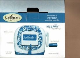 Spellbinders Saphire embossing and cutting system