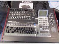 KORG D3200 DIGITAL MULTI TRACK RECORDER