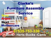 Experienced Flat Pack Assemblers-Fast - Friendly - Reliable Service From Clarkes
