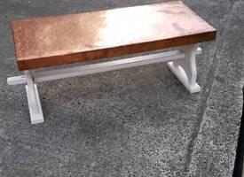 Coffee copper table
