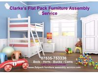Clarke's Flat Pack Furniture Assembly Service For For Ikea--Next- Mothercare and all other Brands
