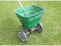 Lawn fertiliser spreader. Scott Easygreen