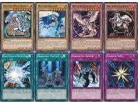 43 Cards Blue-Eyes White Dragon Deck  Kaiba's AUTHENTIC* Blue-Eyes/ Battle City Deck Yu-Gi-Oh