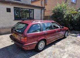BMW E36 touring estate. Really good clean example, well looked after