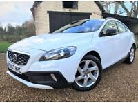 *Watch Video* Volvo V40 D2 Lux *FREE Tax* Long MOT Full Leather Volvo History Cambelt Done 2 Owners