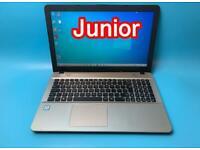 Asus i5 7thGen 8GB Ram 1TB Slimline HD Laptop, Win 10, Usb-C, Microsoft office, VGood Condition