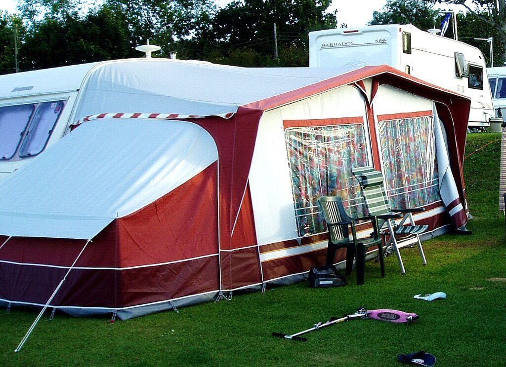 Dorema Sirocco Awning Size 6 775 800cm PLUS Annex And 2 Berth Sleeping Pod