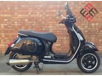 Piaggio Vespa GTS 300cc (14 REG), Excellent condition, Very low mileage