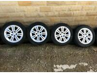 """Vauxhall Astra/Zafira 16"""" alloy wheels and tyres"""
