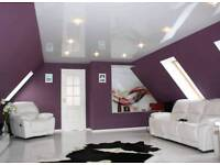 Paint and decorations,Stretch ceilings
