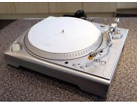 ION iTT USB Turntable - converts LP's to digital MP3 or plays vinyl via HiFi/PC
