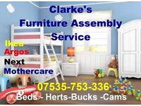 Furniture Assembly Service  IKEA -ARGOS Fast Friendly Service  £25 per Hour Call Paul