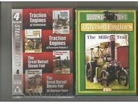 Collection of 5 Traction Engine DVD`S