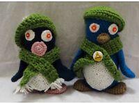 Crochet pinguins