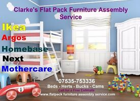 Clarke's Furniture Assembly Service For For Ikea--Next- Milton Keynes-Bedford -Luton -Watford