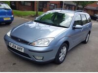 FORD FOCUS GHIA TDCI * 1.8L * DIESEL * 2004 PLATE * 2 KEEPERS * IN EXCELLENT DRIVING CONDITION *£750