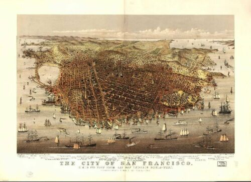 CALIFORNIA VINTAGE PANORAMIC MAPS COLLECTION ON CD