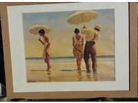 Jack Vettriano Large Framed Mad Dogs