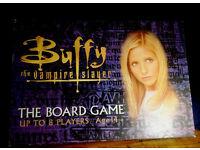 Buffy the vampire slayer board game and jigsaw