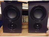 Mission LX-2 Bookshelf Speakers HiFi Sound System AV Surround 5.1 7.1 LX2 LX 2