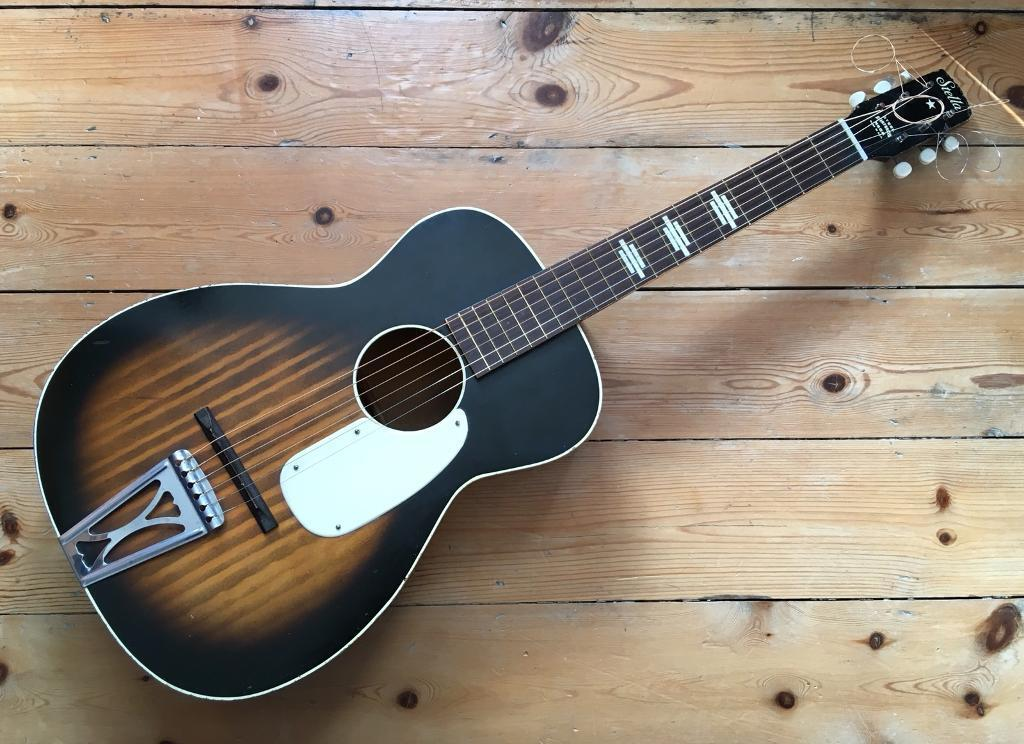 harmony stella guitar h929 parlour sized in southampton hampshire gumtree. Black Bedroom Furniture Sets. Home Design Ideas