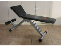 Work out bench.