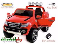 Kids 12v Ford Ranger ride on jeep kids ride on cars Parental control ride on cars