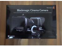 Blackmagic Cinema Camera 2.5K EF Mount, Camera Cage with 512GB SDD Card