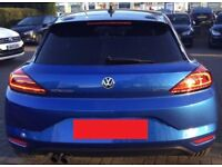 VW Volkswagen Scirocco Facelift 2015 2016 2017 Breaking - Complete Rear End - Cream Leather seats