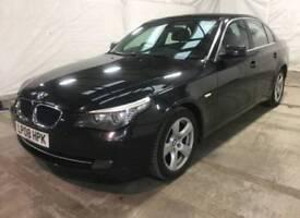 PX Possible.. 2008 08 BMW 520D 2.0 177 SE BLACK AUTO MILES