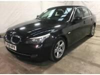 2008 08 BMW 520D 2.0 177 SE BLACK AUTO MILES