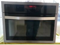 John Lewis JLBIC04 Compact Built In Integrated Oven and Microwave RRP £629