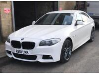 Bmw 5 series Msport White
