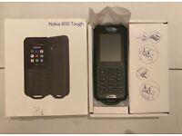 Nokia 800 Tough 2.4 Inch 4G UK SIM-Free Feature Phone (Single-SIM)