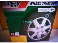 Wheel Trim Set. 33cm