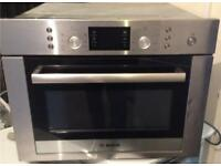 Bosch combination oven free delivery