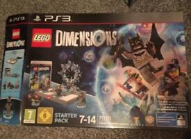 Lego Dimensions starter kit PS3