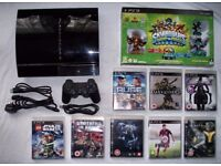 PS3 Playstation 3 60gb C model backwards compatible with controller and games!!!