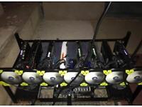 8 x GTX 1080 TI Mining Rig (zcash, monero, ethereum, etc)