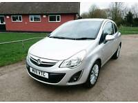 Vauxhall Corsa Excite 2011 Silver 1.2 Petrol Manual *41000 Miles*