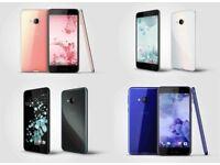 HTC U Play 5.2 Inch 32GB 3GB 4G 16MP HD Mobile Phone UNLOCK - GRADE MIX