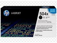 HP laserjet 504x toner cartridge