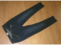Mens D-Struct 32 x 32 32W 32L jeans Blue - Slim Fit Jeans - New Without Tags