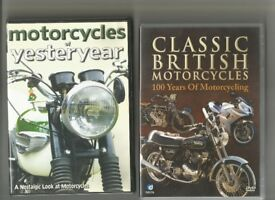 Great Collection of 14 British Motorcycle DVD`S and Boxsets