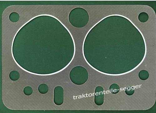 Zylinderkopfdichtung Normag NG 10 mit Deutz F2M414 Motor Trecker Schlepper Foto 1