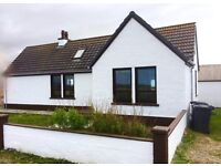 Charming 2 Bed Bungalow (+xtra loft room) in South Uist. Close to ferry+flight, beach, fishing, golf